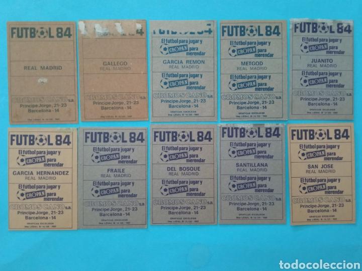 Álbum de fútbol completo: CANO FÚTBOL 84 REPLETO 447 CROMOS, DOBLES,TRIPLES,ESCUDOS,RAREZAS,ETC. - Foto 9 - 272580568