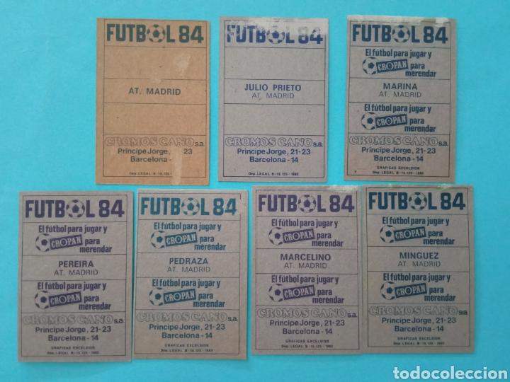 Álbum de fútbol completo: CANO FÚTBOL 84 REPLETO 447 CROMOS, DOBLES,TRIPLES,ESCUDOS,RAREZAS,ETC. - Foto 12 - 272580568