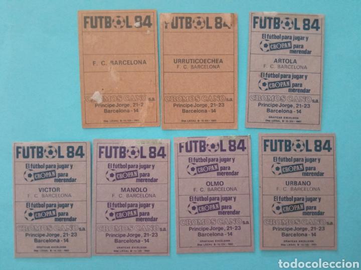 Álbum de fútbol completo: CANO FÚTBOL 84 REPLETO 447 CROMOS, DOBLES,TRIPLES,ESCUDOS,RAREZAS,ETC. - Foto 15 - 272580568