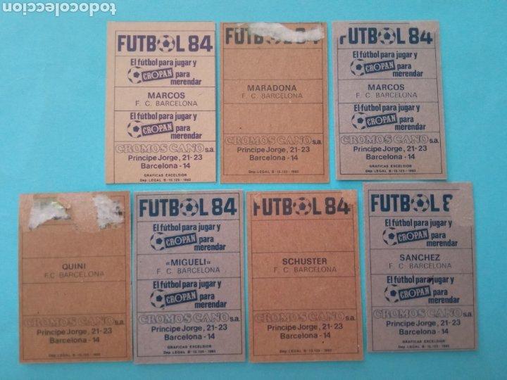 Álbum de fútbol completo: CANO FÚTBOL 84 REPLETO 447 CROMOS, DOBLES,TRIPLES,ESCUDOS,RAREZAS,ETC. - Foto 17 - 272580568