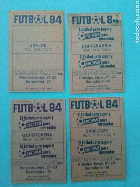 Álbum de fútbol completo: CANO FÚTBOL 84 REPLETO 447 CROMOS, DOBLES,TRIPLES,ESCUDOS,RAREZAS,ETC. - Foto 26 - 272580568