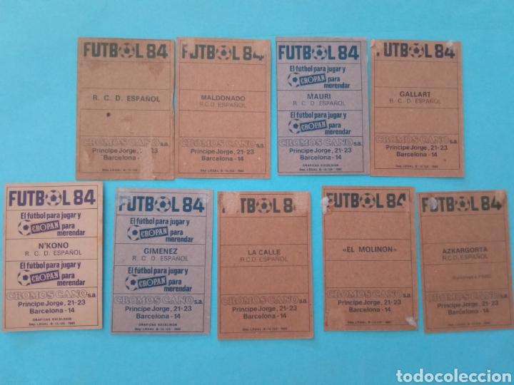 Álbum de fútbol completo: CANO FÚTBOL 84 REPLETO 447 CROMOS, DOBLES,TRIPLES,ESCUDOS,RAREZAS,ETC. - Foto 34 - 272580568