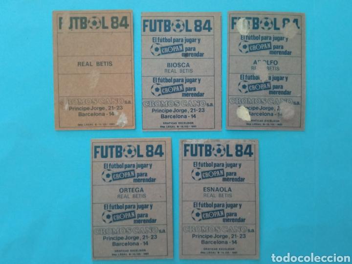 Álbum de fútbol completo: CANO FÚTBOL 84 REPLETO 447 CROMOS, DOBLES,TRIPLES,ESCUDOS,RAREZAS,ETC. - Foto 42 - 272580568