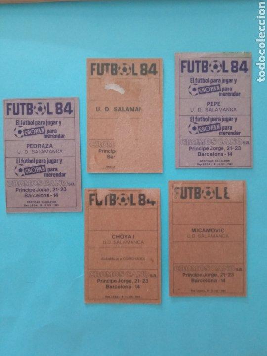 Álbum de fútbol completo: CANO FÚTBOL 84 REPLETO 447 CROMOS, DOBLES,TRIPLES,ESCUDOS,RAREZAS,ETC. - Foto 45 - 272580568