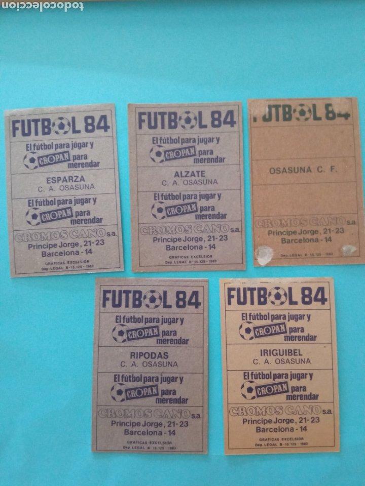 Álbum de fútbol completo: CANO FÚTBOL 84 REPLETO 447 CROMOS, DOBLES,TRIPLES,ESCUDOS,RAREZAS,ETC. - Foto 51 - 272580568