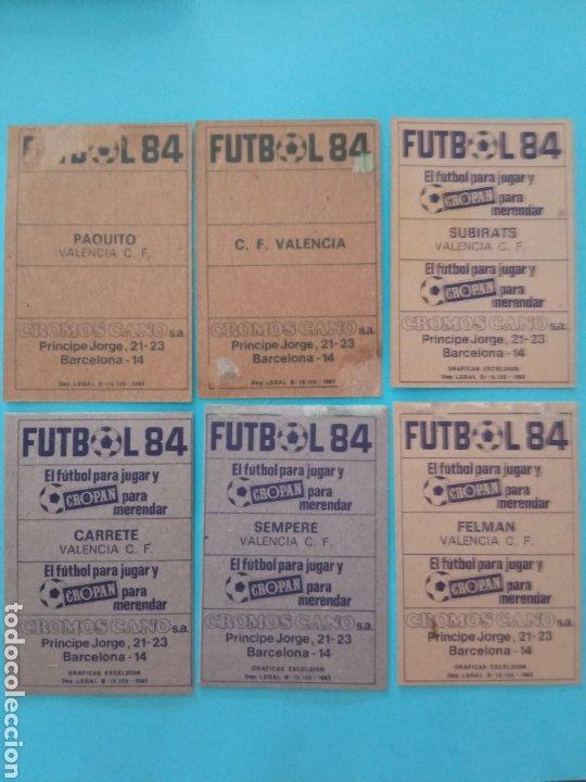 Álbum de fútbol completo: CANO FÚTBOL 84 REPLETO 447 CROMOS, DOBLES,TRIPLES,ESCUDOS,RAREZAS,ETC. - Foto 54 - 272580568