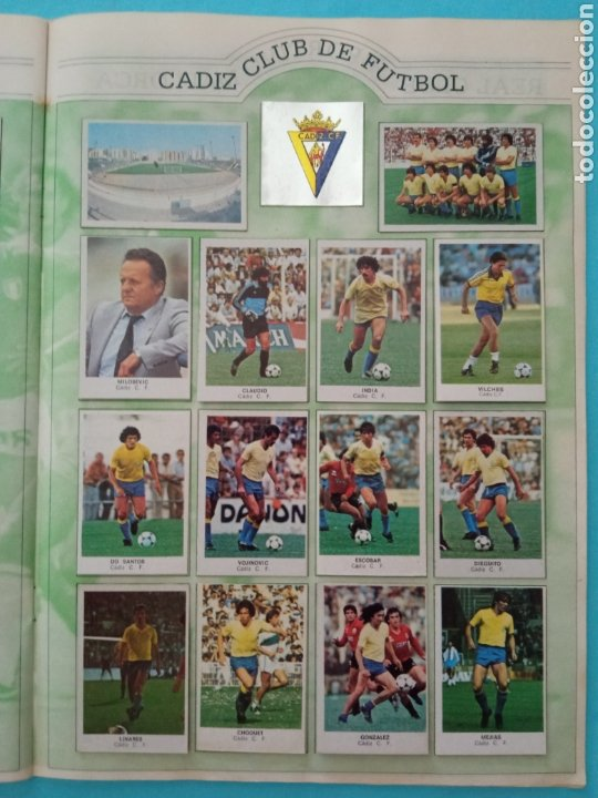 Álbum de fútbol completo: CANO FÚTBOL 84 REPLETO 447 CROMOS, DOBLES,TRIPLES,ESCUDOS,RAREZAS,ETC. - Foto 57 - 272580568