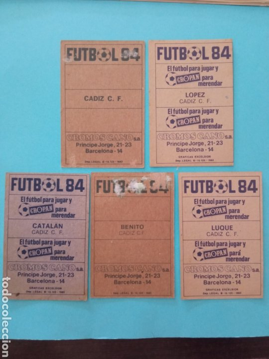 Álbum de fútbol completo: CANO FÚTBOL 84 REPLETO 447 CROMOS, DOBLES,TRIPLES,ESCUDOS,RAREZAS,ETC. - Foto 59 - 272580568