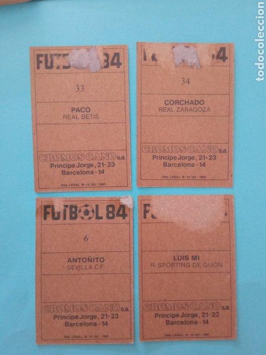 Álbum de fútbol completo: CANO FÚTBOL 84 REPLETO 447 CROMOS, DOBLES,TRIPLES,ESCUDOS,RAREZAS,ETC. - Foto 66 - 272580568