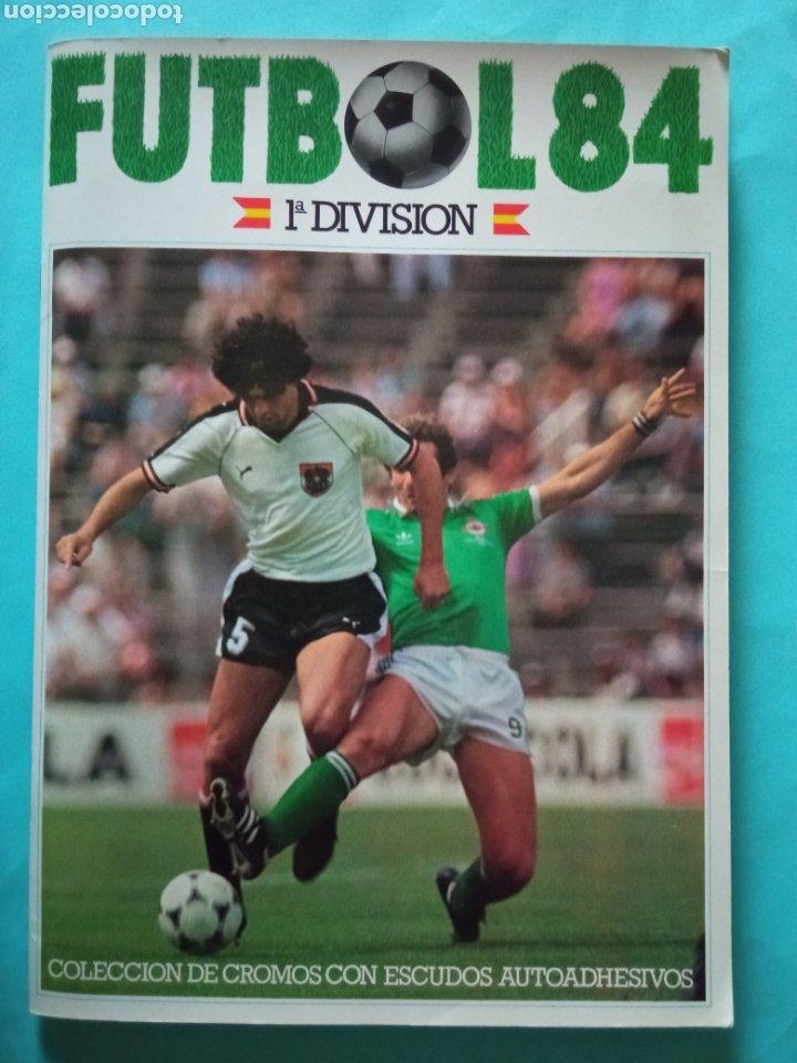 CANO FÚTBOL 84 REPLETO 447 CROMOS, DOBLES,TRIPLES,ESCUDOS,RAREZAS,ETC. (Coleccionismo Deportivo - Álbumes y Cromos de Deportes - Álbumes de Fútbol Completos)