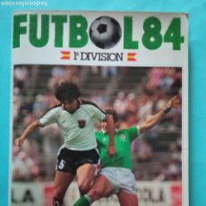 Álbum de fútbol completo: CANO FÚTBOL 84 REPLETO 447 CROMOS, DOBLES,TRIPLES,ESCUDOS,RAREZAS,ETC.. Lote 272580568