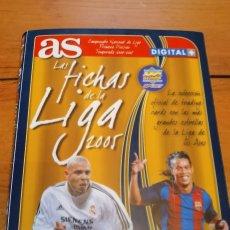 Álbum de fútbol completo: ALBUM COMPLETO MUNDICROMO DIARIO AS LIGA 2004 2005,MUY BIEN ESTADO. Lote 272791898