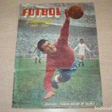 Álbum de fútbol completo: ALBUM DE CROMOS COMPLETO Y ORIGINAL FUTBOL CAMPEONATO 1959 - 1960 EDICIONES FERCA LIGA 1ª DIVISION. Lote 272975048