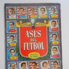 Álbum de fútbol completo: ALBUM CROMOS FUTBOL ORIGINAL Y COMPLETO ASES DEL FUTBOL BRUGUERA 1952 PERFECTO ESTADO FOOTBALL BARSA. Lote 273659848