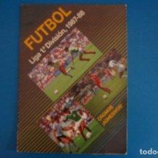 Álbum de fútbol completo: ALBUM COMPLETO DE FUTBOL LIGA 1987-1988/87-88 DE EDICIONES FESTIVAL. Lote 273771338
