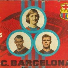 Álbum de fútbol completo: ALBUM DE CROMOS COMPLETO - 75 AÑOS DEL F.C. BARCELONA -. Lote 275495813
