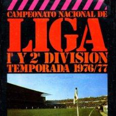 Álbum de fútbol completo: ALBUM FUTBOL FACSIMIL 76-77 ESTADIO,COMPLETO Y NUEVO. Lote 295842383