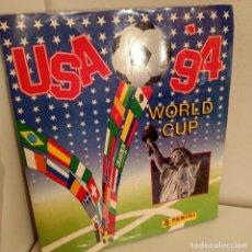 Álbum de fútbol completo: ALBUM DE CROMOS COMPLETO MUNDIAL USA 94, ALBUM DE CROMOS / STIQUERS ALBUM, PANINI, 1994. Lote 277061523