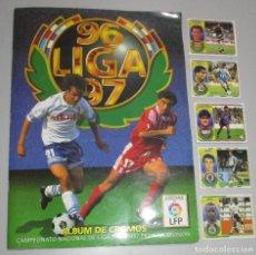 Álbum de fútbol completo: ALBUM CROMOS FUTBOL LIGA 96-97 1996-1997 ESTE CON 555 CROMOS. Lote 277140103