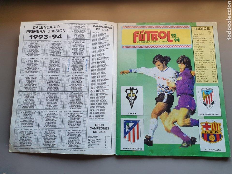 Álbum de fútbol completo: ALBUM COMPLETO CON MARADONA SEVILLA LIGA PANINI 93 94 1993 1994 - Foto 2 - 277713008