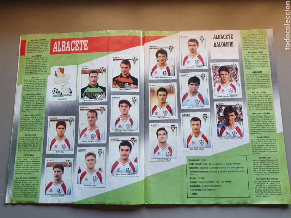Álbum de fútbol completo: ALBUM COMPLETO CON MARADONA SEVILLA LIGA PANINI 93 94 1993 1994 - Foto 4 - 277713008
