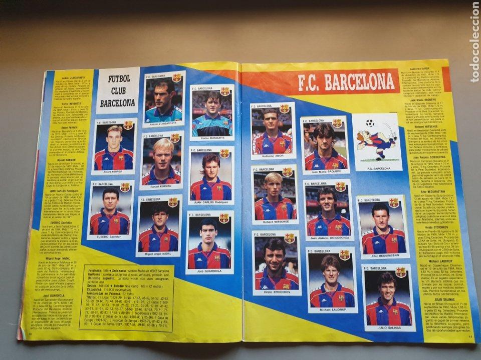Álbum de fútbol completo: ALBUM COMPLETO CON MARADONA SEVILLA LIGA PANINI 93 94 1993 1994 - Foto 7 - 277713008