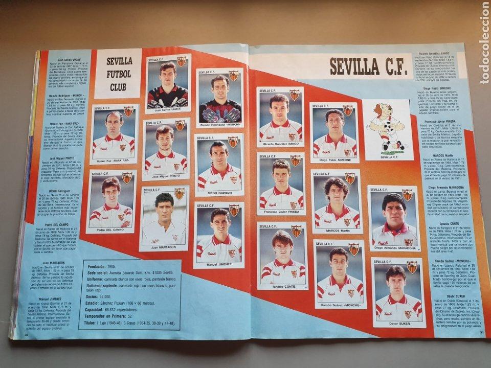 Álbum de fútbol completo: ALBUM COMPLETO CON MARADONA SEVILLA LIGA PANINI 93 94 1993 1994 - Foto 17 - 277713008