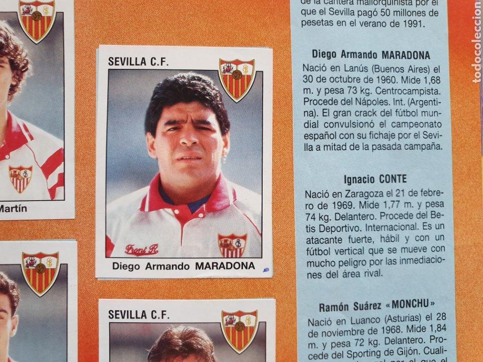 Álbum de fútbol completo: ALBUM COMPLETO CON MARADONA SEVILLA LIGA PANINI 93 94 1993 1994 - Foto 18 - 277713008