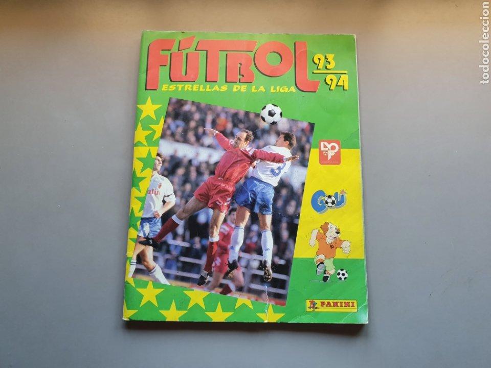 ALBUM COMPLETO CON MARADONA SEVILLA LIGA PANINI 93 94 1993 1994 (Coleccionismo Deportivo - Álbumes y Cromos de Deportes - Álbumes de Fútbol Completos)