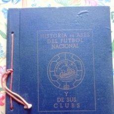 Álbum de fútbol completo: ALBUM COLUMBA-HISTORIA DE ASES DEL FUTBOL NACIONAL Y SUS CLUBS -1955 Y LIBRITO MARADONA. Lote 277735288