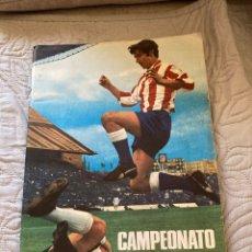 Álbum de fútbol completo: ÁLBUM DE CROMOS TEMPORADA 71/72, A FALTA DE 3 CROMOS, EN PERFECTO ESTADO. Lote 277842448