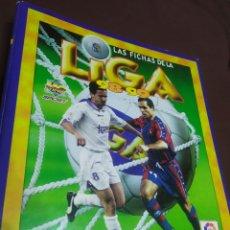 Álbum de fútbol completo: ÁLBUM LAS FICHAS DE LA LIGA 98-99 MÁS DE 500 CROMOS. Lote 278214748