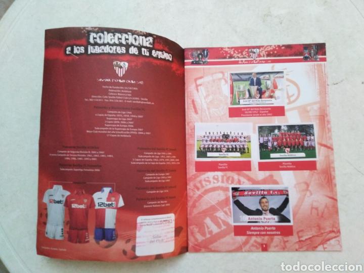 Álbum de fútbol completo: Álbum completo Sevilla F.C, colección oficial de cromos 2009-2010 - Foto 2 - 278429533