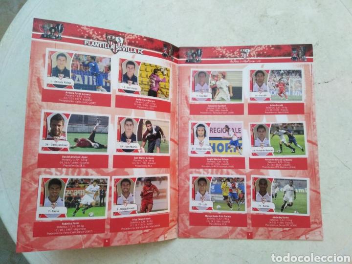 Álbum de fútbol completo: Álbum completo Sevilla F.C, colección oficial de cromos 2009-2010 - Foto 3 - 278429533