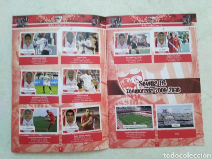 Álbum de fútbol completo: Álbum completo Sevilla F.C, colección oficial de cromos 2009-2010 - Foto 5 - 278429533