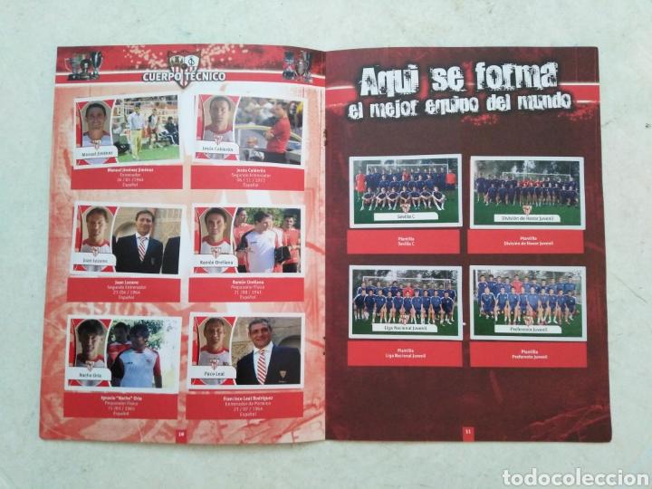 Álbum de fútbol completo: Álbum completo Sevilla F.C, colección oficial de cromos 2009-2010 - Foto 6 - 278429533