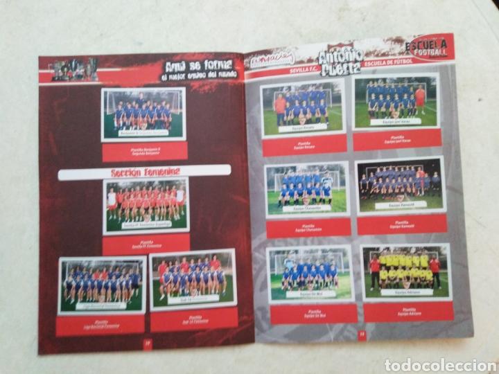 Álbum de fútbol completo: Álbum completo Sevilla F.C, colección oficial de cromos 2009-2010 - Foto 8 - 278429533