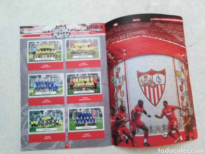 Álbum de fútbol completo: Álbum completo Sevilla F.C, colección oficial de cromos 2009-2010 - Foto 10 - 278429533