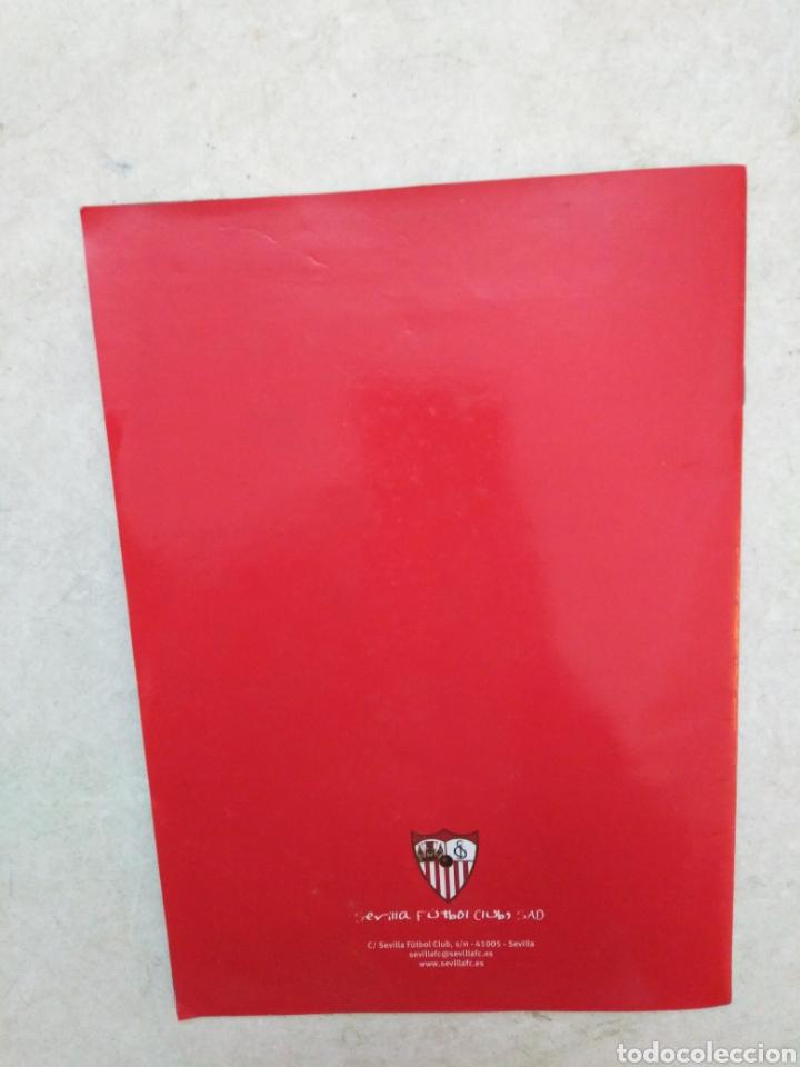 Álbum de fútbol completo: Álbum completo Sevilla F.C, colección oficial de cromos 2009-2010 - Foto 11 - 278429533