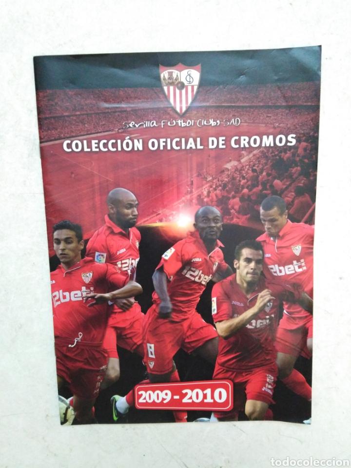 ÁLBUM COMPLETO SEVILLA F.C, COLECCIÓN OFICIAL DE CROMOS 2009-2010 (Coleccionismo Deportivo - Álbumes y Cromos de Deportes - Álbumes de Fútbol Completos)