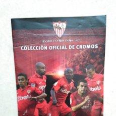 Álbum de fútbol completo: ÁLBUM COMPLETO SEVILLA F.C, COLECCIÓN OFICIAL DE CROMOS 2009-2010. Lote 278429533