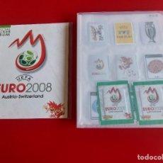 Álbum de fútbol completo: COLECCION COMPLETA CROMOS SIN PEGAR ADHESIVA EURO 2008 PANINI BRASIL-C.RONALDO,MODRIC,IBRAHIMOVIC... Lote 278842933