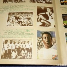 Álbum de fútbol completo: (M) PELÉ, MARADONA, PAOLO ROSSI, ZAMORA, KUBALA, PUSKAS, DI STEFANO, CRUYFF, ALCANTARA, CHARLTON. Lote 279373378
