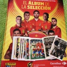 Álbum de fútbol completo: ÁLBUM SELECCIÓN ESPAÑOLA CARREFOUR. Lote 280119043