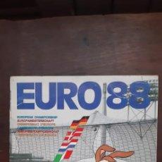 Album de football complet: ÁLBUM EDITORIAL PANINI UEFA EURO 88.. Lote 280736218