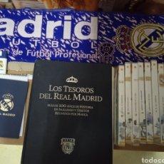 Álbum de fútbol completo: LOTE REAL MADRID.. Lote 281853093