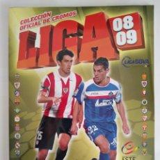 Álbum de fútbol completo: ALBUM PLANCHA COMPLETO CAMPEONATO FUTBOL LIGA 08 09 2008 2009 CONTIENE 558 CROMOS COLECCION ESTE RV. Lote 283066928