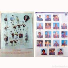 Álbum de fútbol completo: ALBUM BARCELONA LIBRO DE ORO BARSA 1899 1995. CROMOS HISTORICOS 1973 1999. Lote 135738799