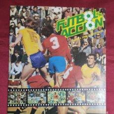 Album de football complet: ALBUM DE CROMOS COMPLETO. FUTBOL EN ACCION MUNDIAL ESPAÑA 1982. DANONE 82. Lote 285483773