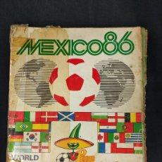 Album de football complet: ALBUM DE CROMOS COMPLETO - MEXICO 86 - PANINI -. Lote 286134923
